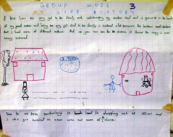 group work life history page